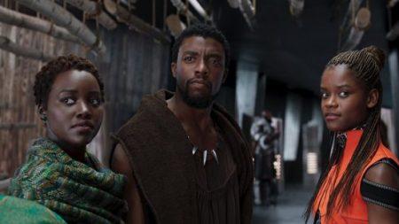 black-panther-lupita-nyongo-chadwick-boseman-letitia-wright-nakia-tchalla-shuri-scene-marvel-1200x633-550x309