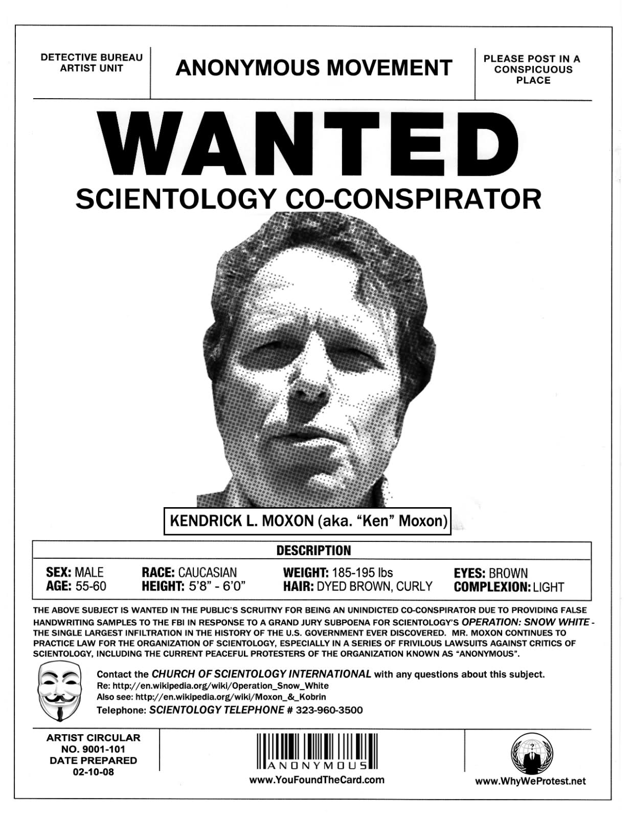 example of a wanted poster – Example of a Wanted Poster