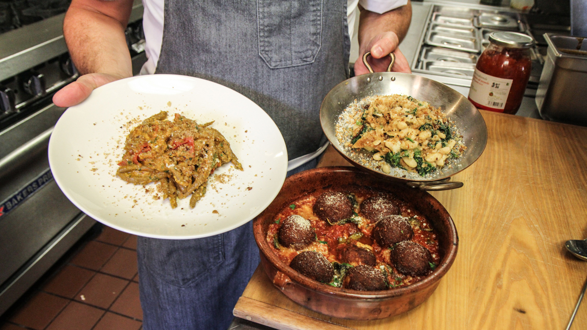 Cucina Povera For The Pope Brigantessa Chef Cooks Up Menu Rooted In Cucina