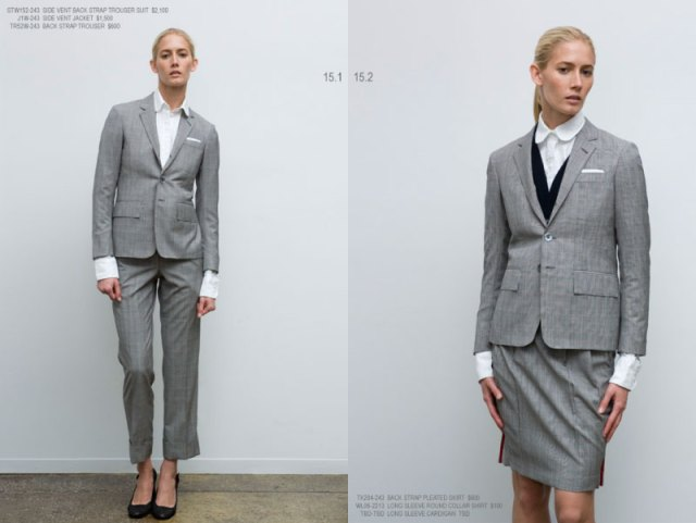 10 tblookbook04 Thom Browne Women Spring/Summer 2008