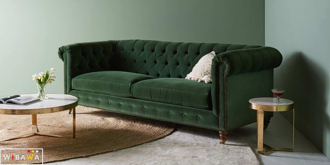 Model Kursi Sofa Terbaru Kursi Sofa Chesterfield Green Pines 2 Dudukan Furniture Jepara