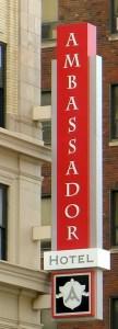 Ambassador Hotel sign 2014-03-07