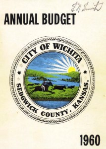 Wichita City Budget Cover, 1960