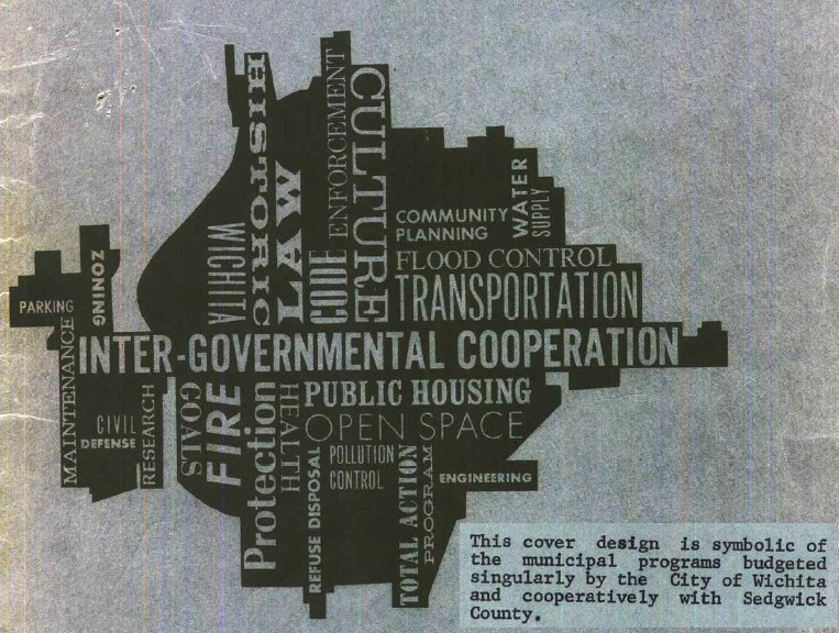 Wichita City Budget Cover, 1967