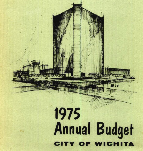Wichita City Budget Cover, 1975
