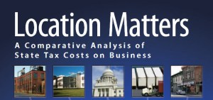 Location Matters Tax Foundation cover