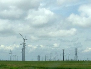 Wind farm near Spearville, Kansas.