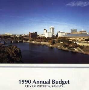 Wichita City Budget Cover, 1990