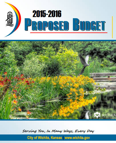 Wichita City Budget Cover, 2015