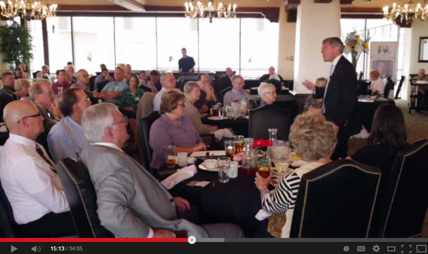 Stephen Moore, Wichita Pachyderm Club, September 5, 2014