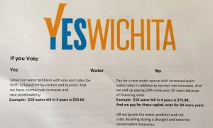 """""""Yes Wichita"""" campaign material. Click for larger version."""