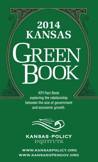 Kansas Policy Institute Green Book 2014 cover