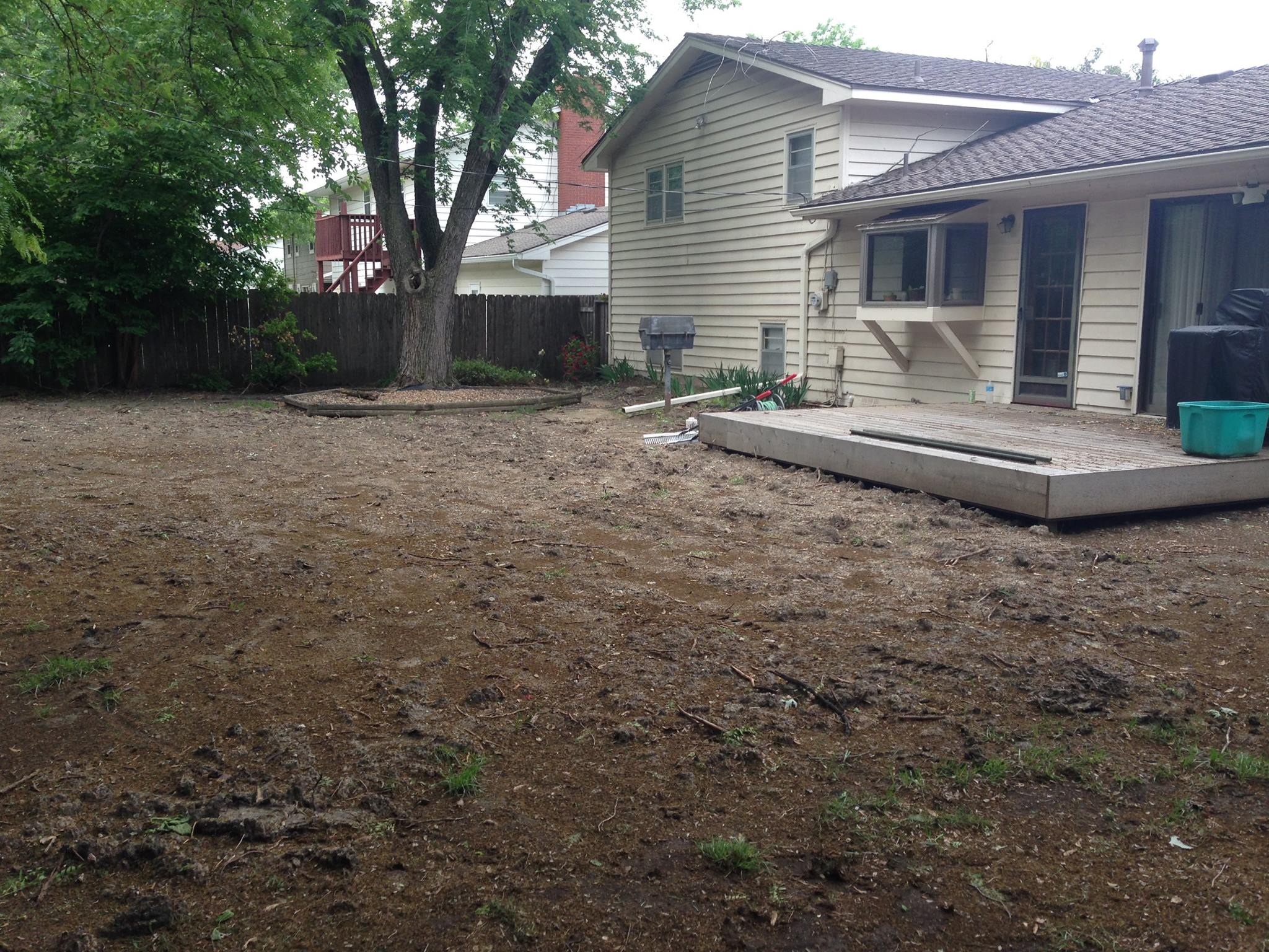 Popular Before Sod Sod Installation Sod Sod Services Wml How To Grade A Yard A Patio How To Grade A Yard A Skid Steer houzz-02 How To Grade A Yard