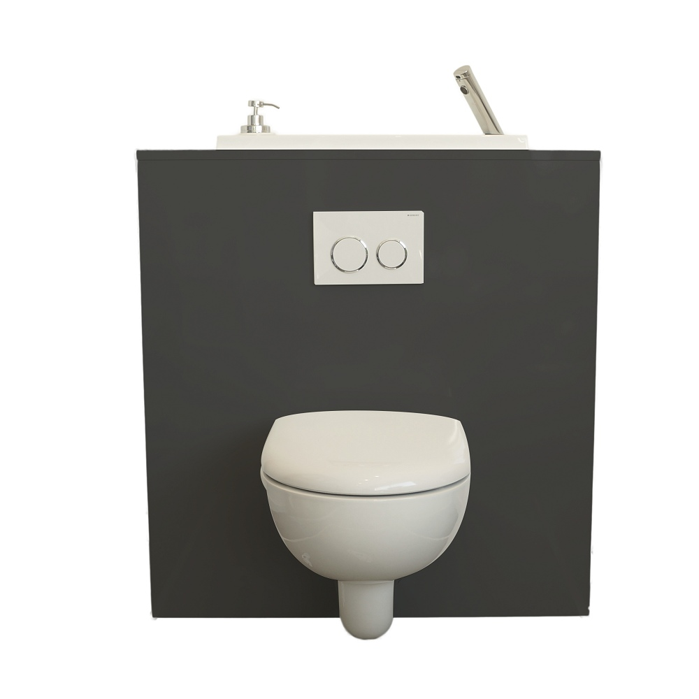 Geberit Wc Wall Hung Toilet With Wici Boxi Washbasin Chicago Wici Concept