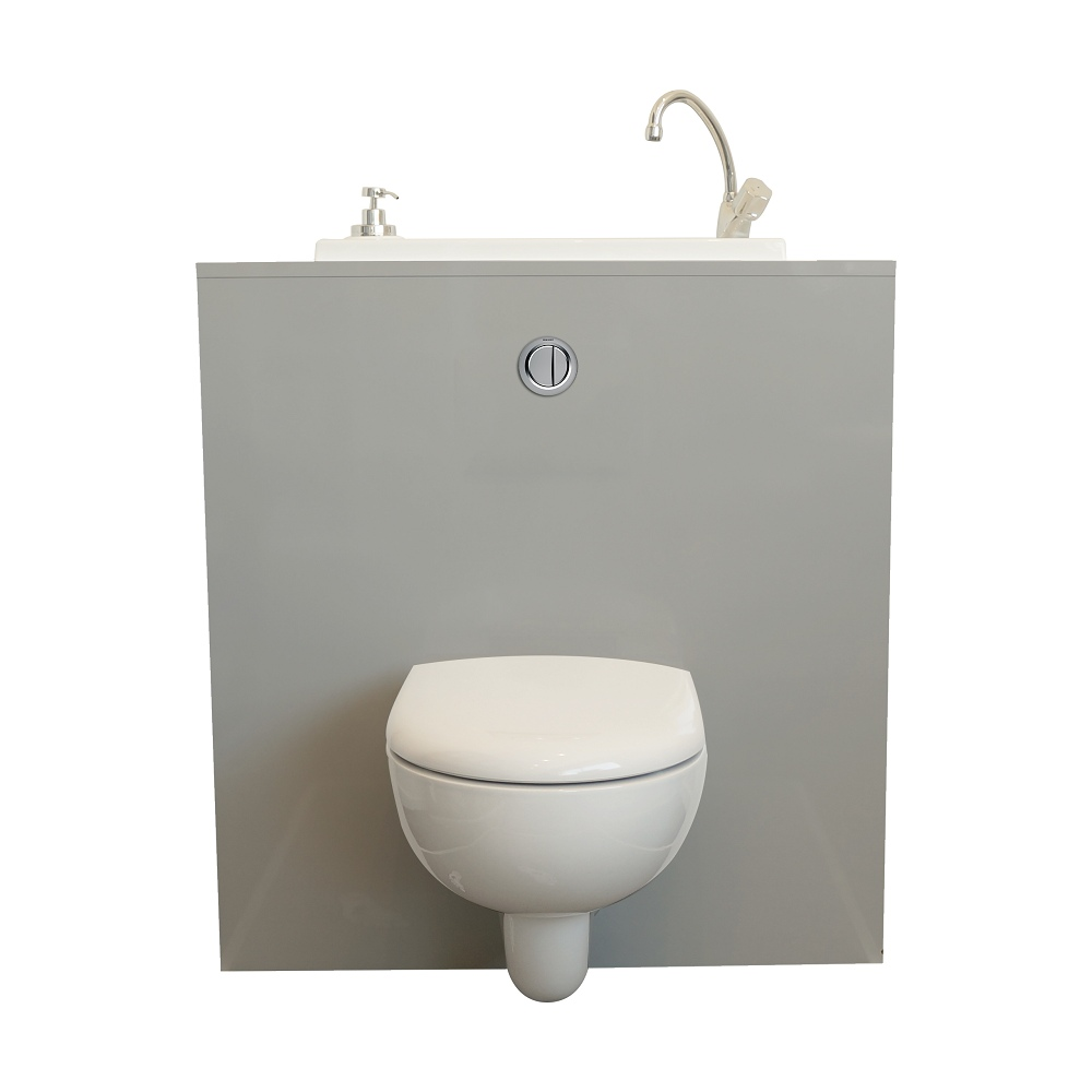 Geberit Wc Wand Wc Mit Wici Bati Waschbecken Modell Mineral Wici Concept