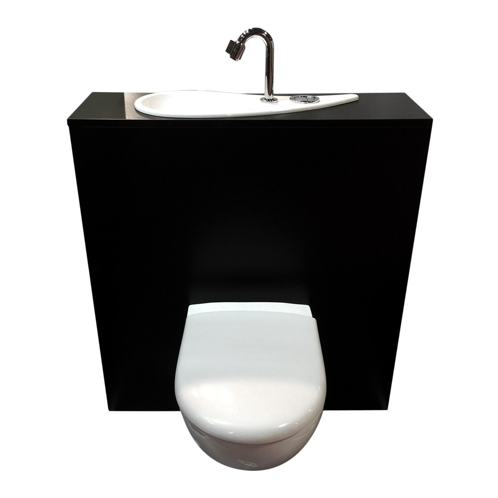 Lave Main Toilette Suspendu Wici Free Flush Wc Suspendu Geberit Avec Lave Mains Design