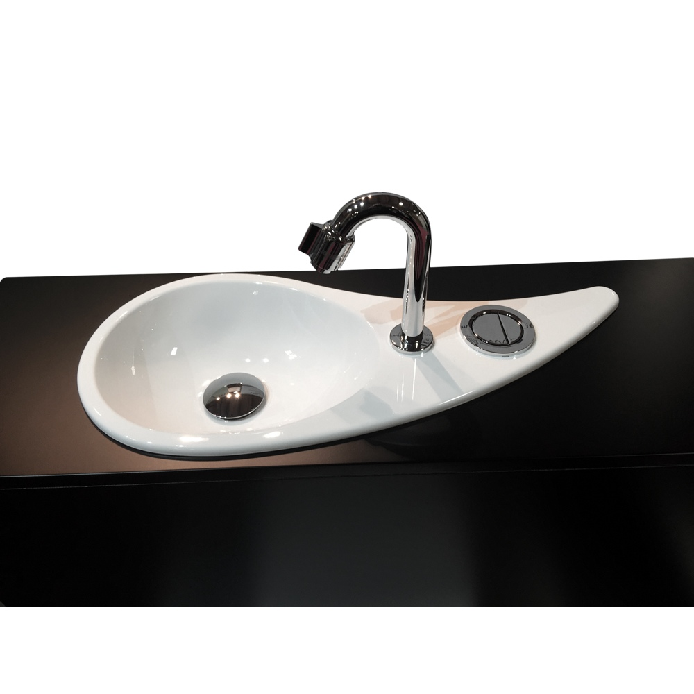 Wici Free Flush Wc Suspendu Geberit Avec Lave Mains