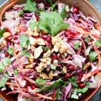 Pomegranate Mexican Slaw
