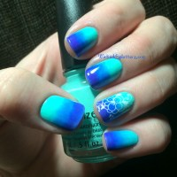 Teal And Blue Ombre Nails Pictures to Pin on Pinterest ...