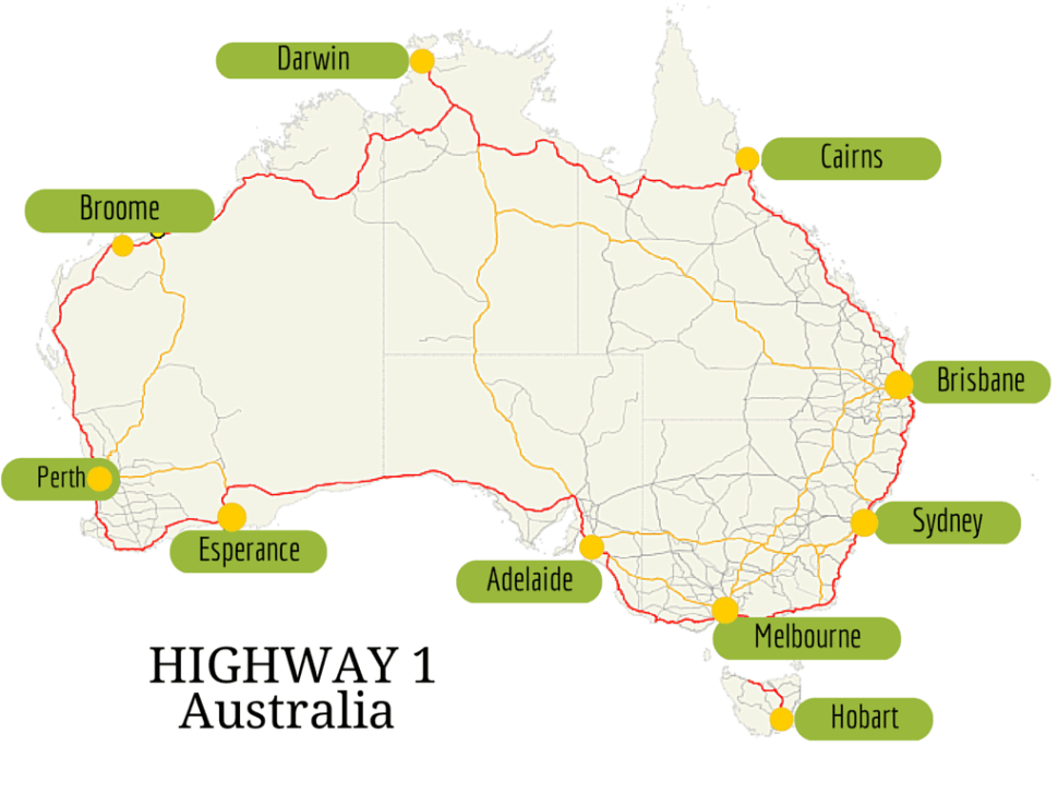 Howlong Australia  city pictures gallery : How long does it take to drive around Australia Self Drive, distances ...