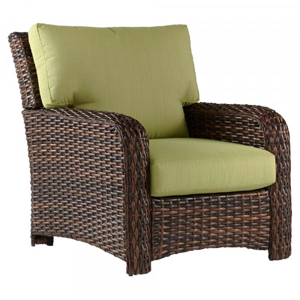 Sitzecke Rattan South Sea Rattan Saint Tropez Wicker Chair - Wicker.com