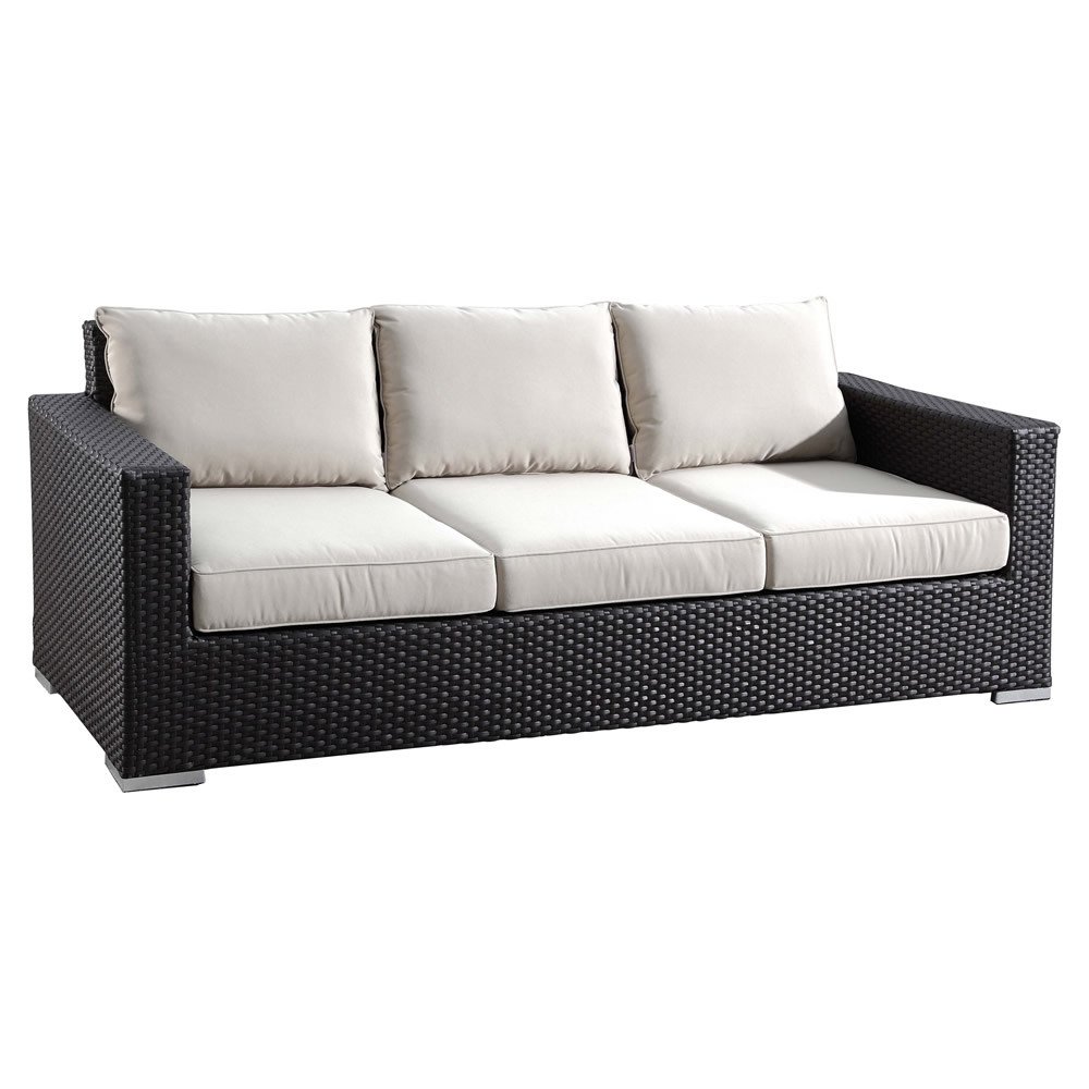 Sofa Rattan Sunset West Solana Wicker Sofa - Wicker.com