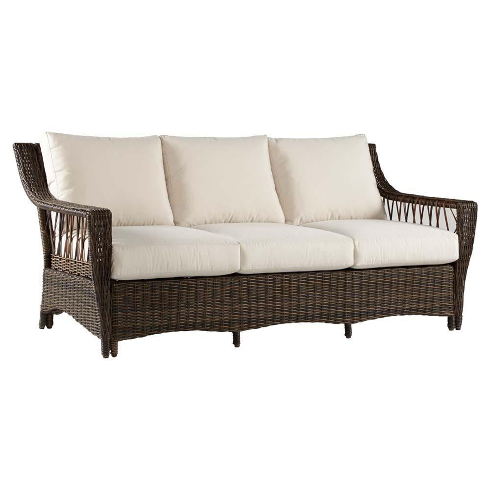 Rattan Ecksofa South Sea Rattan Saint John Sofa - Wicker.com