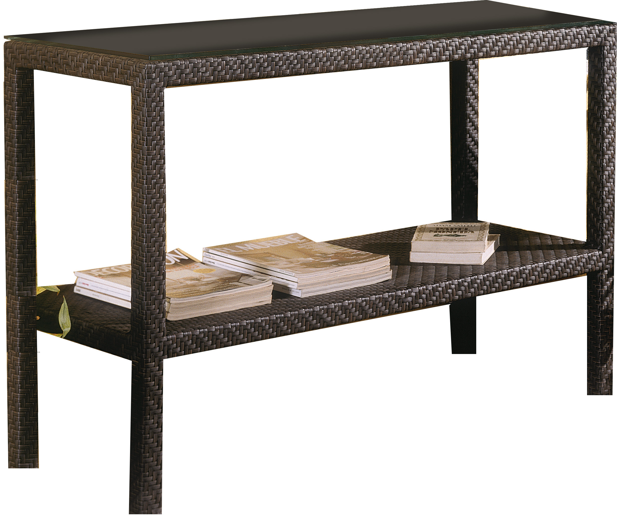 Rattan Table Hospitality Rattan Soho Wicker Console Table