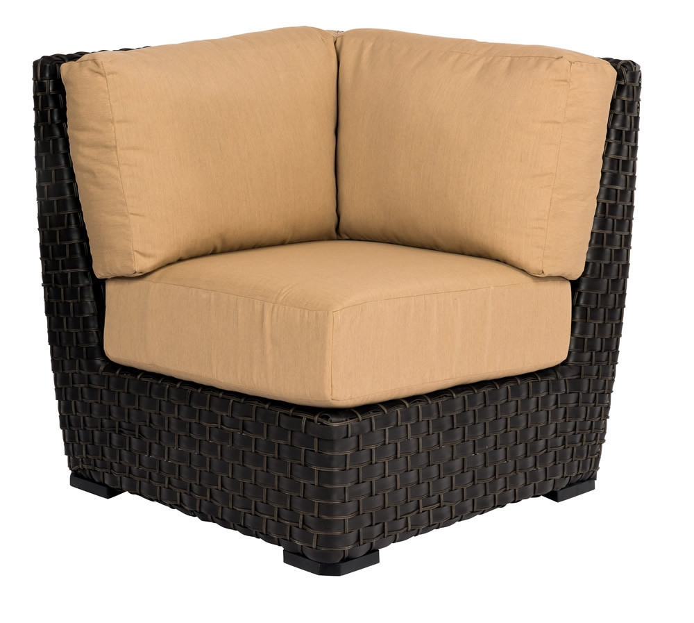 Rattan Corner Sofa Replacement Cushions Whitecraft By Woodard Cooper Wicker Corner Chair Replacement Cushions
