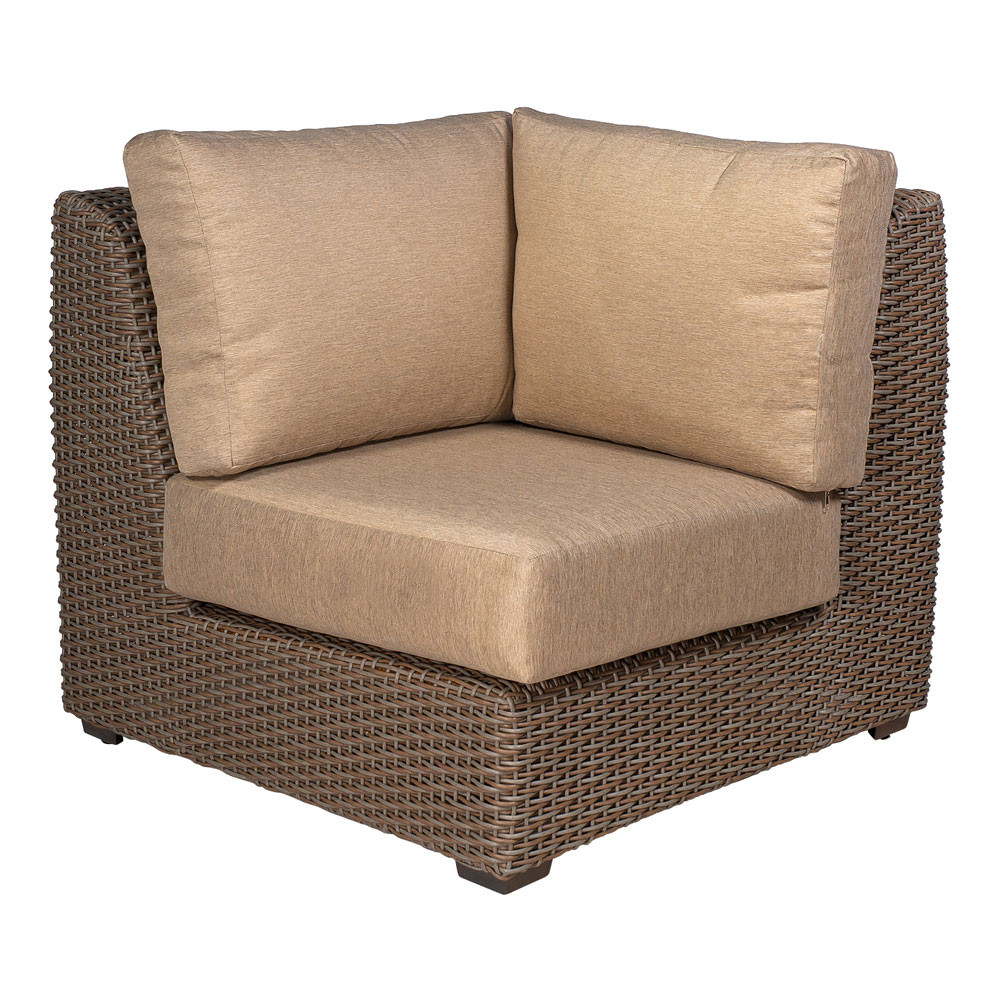 Rattan Corner Sofa Replacement Cushions Whitecraft By Woodard Augusta Wicker Corner Chair Replacement Cushion