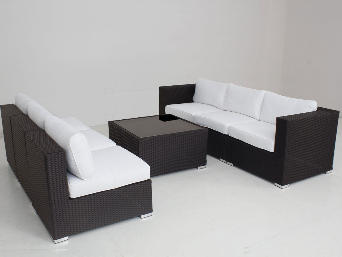 Brown Majeston Modular Outdoor Furniture Lounge