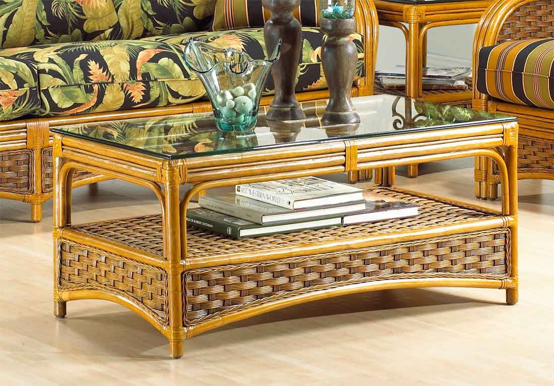 Rattan Table Portofino Rattan Coffee Table With