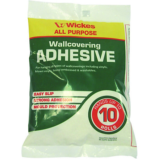 Wickes Powdered Wallpaper Adhesive 10 Roll | Wickes.co.uk