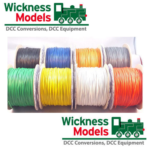 Track Bus Wire Choose Colour-Quantity - Wickness Models