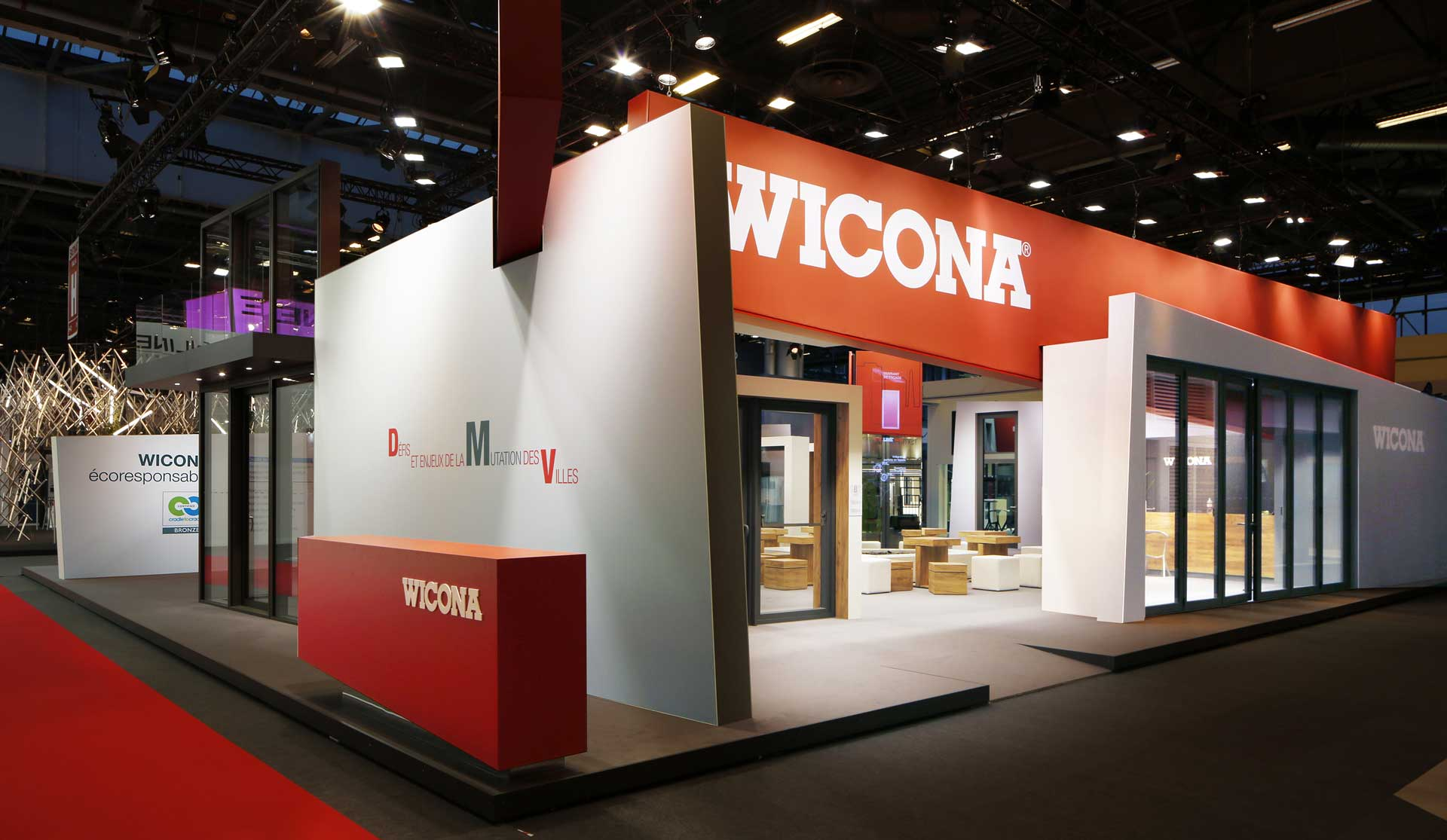 Salon Batimat Wicona à Batimat 2017 Wicona France