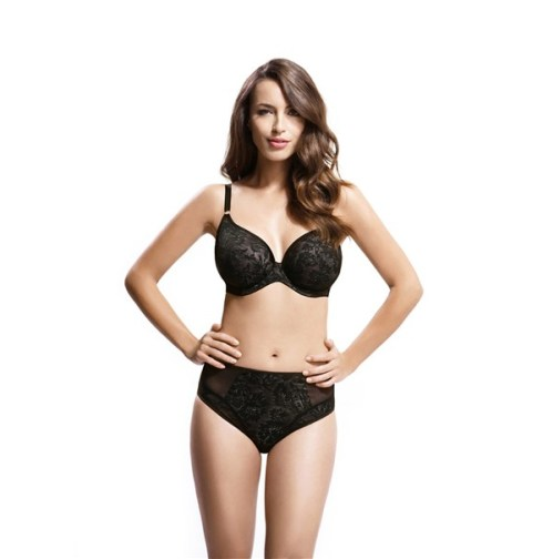 Panache Idina Plunge 6966 in black. Image from Panache.