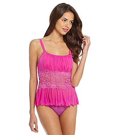 Cabernet Cheeky Goddess Camisole. Image from Dillard's.