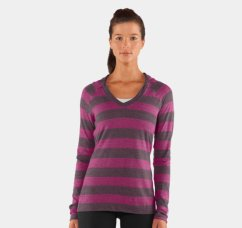 Women's Under Armour Victory Long Sleeve Hoodie. Image from Under Armour.com