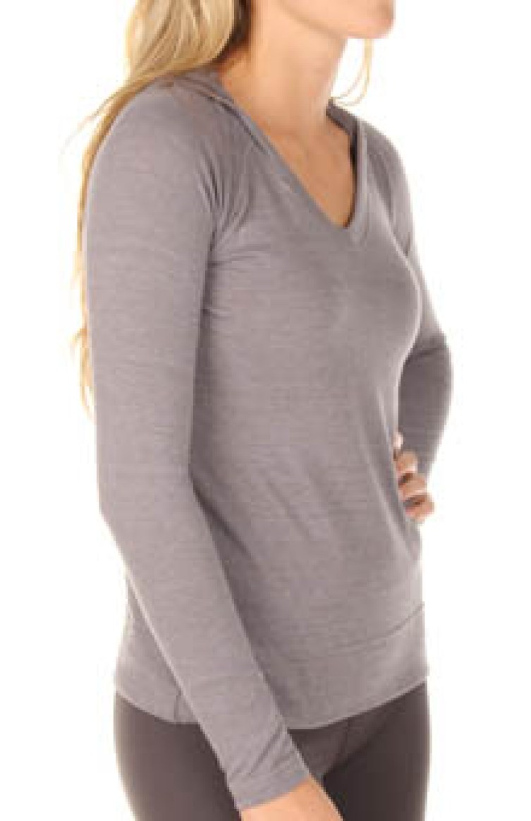 Women's Under Armour Victory Long Sleeve Hoodie. Image from HerRoom.com