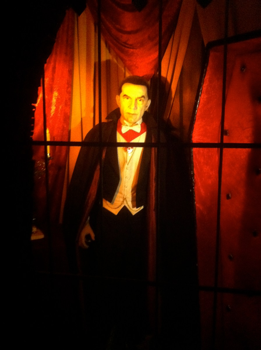 Dracula. Halloween isn't complete without him.