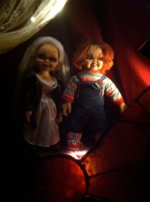 Chucky and his bride.