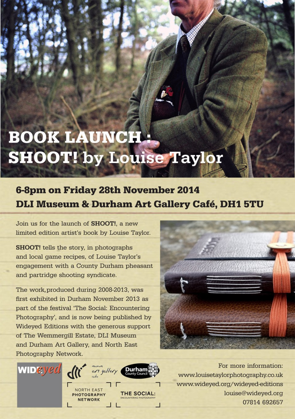 Book Launch Flyer