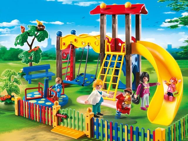 Playmobil_Kinderspielplatz-Szene