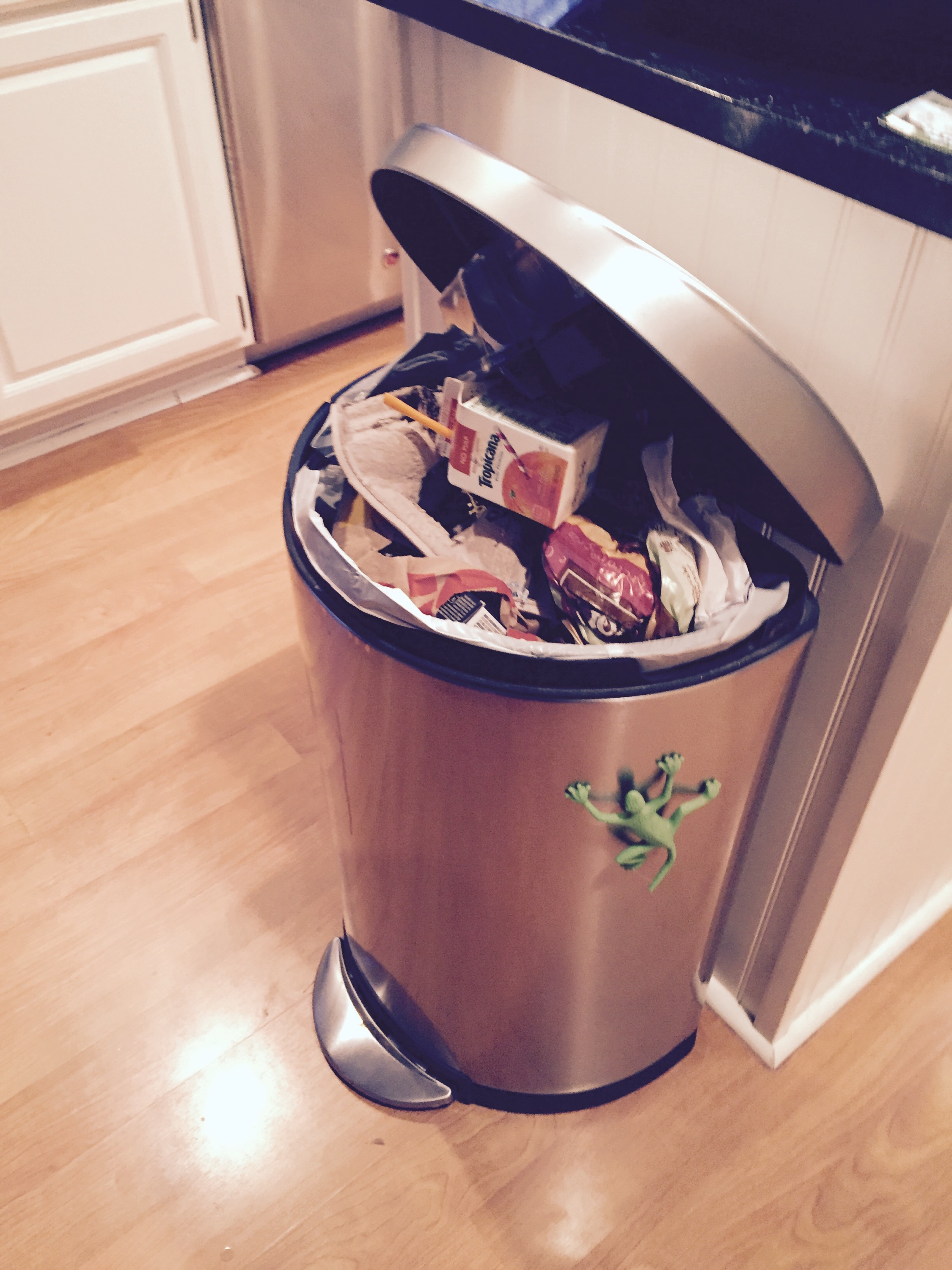 Fun Trash Can Garbage In Garbage Out Wifemothereventplanner