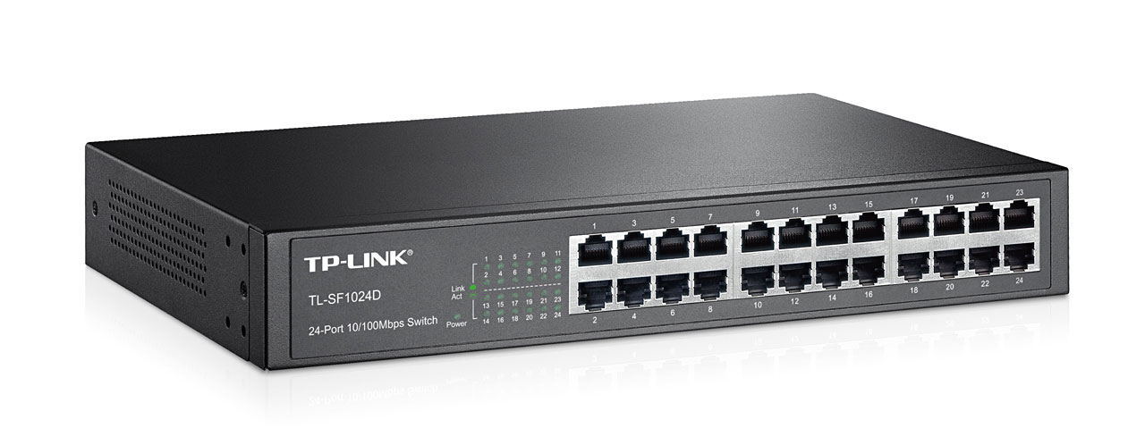 Camera Exterieur Tp Link Par Marques: Switch 24 Ports 10/100mbps Tl-sf1024d