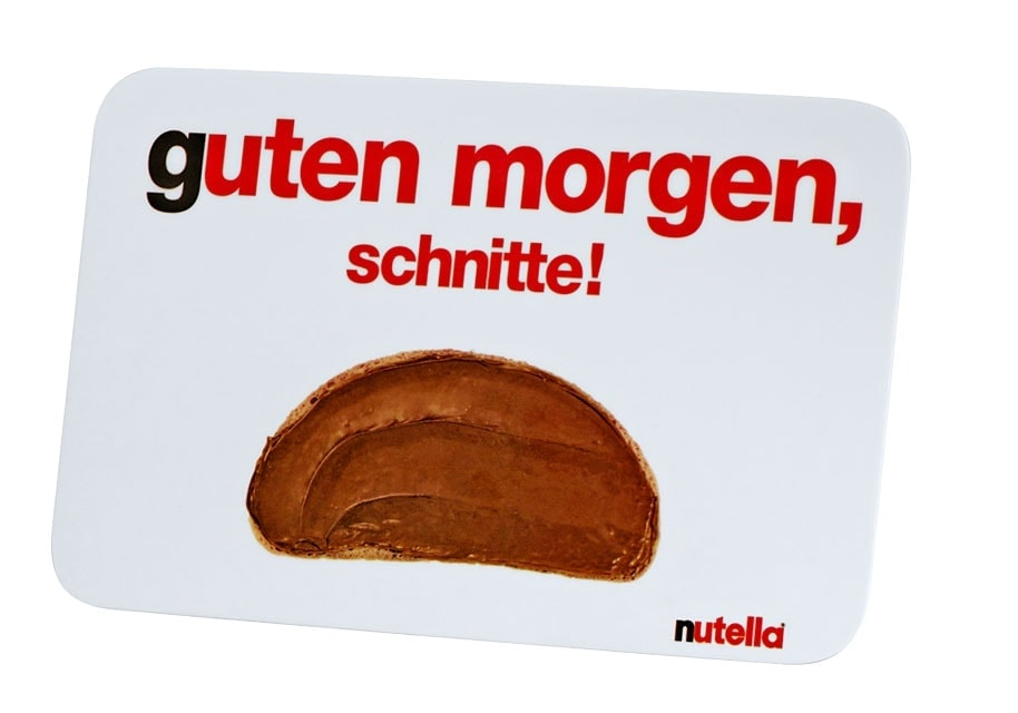 Bettwäsche Nutella Erinnerung: Die Ferrero Lovebrands #sponsored | Was Is