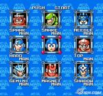 Mega Man Stage Select