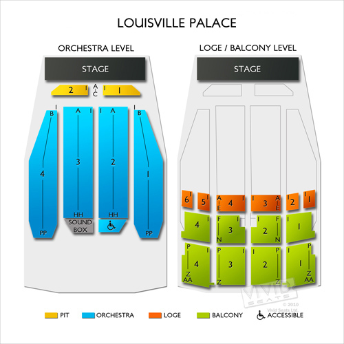 Palace Theater Greensburg Seating Chart Elcho Table