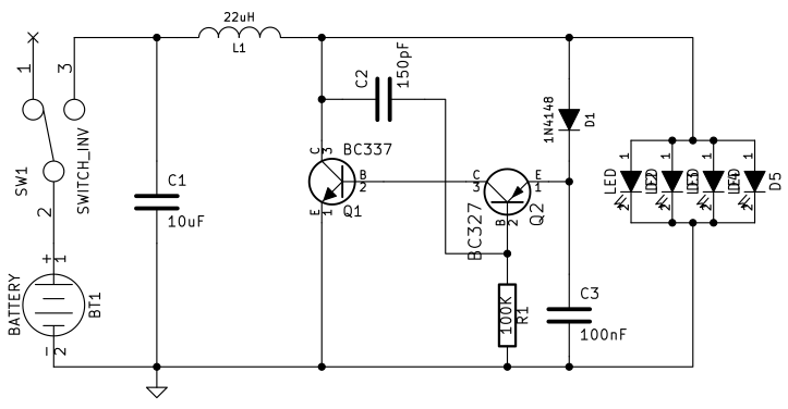 schematic battery holder