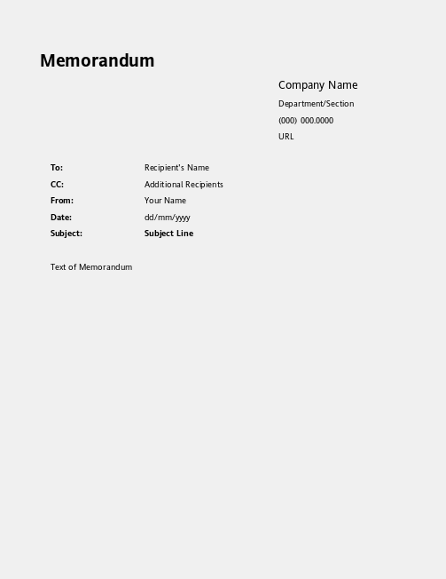 openoffice cover letter template